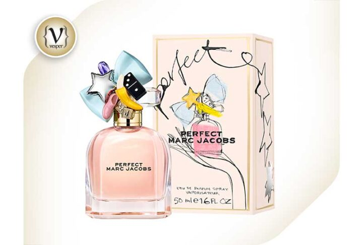 The new fragrance by Marc Jacobs is playful and simply