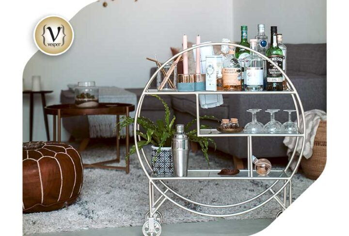 Interior Design Trend: Drinks Trolley