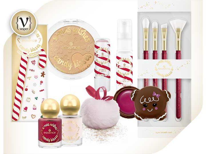 Η limited edition σειρά της essence x-mas wishes candy kisses