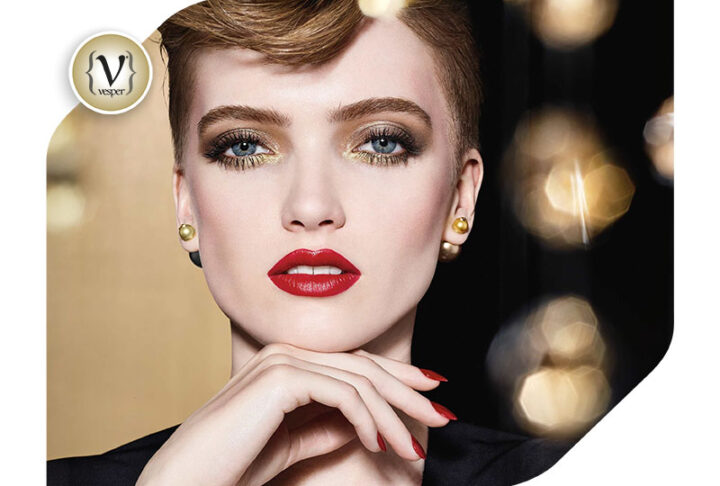 This Christmas festive colour by Dior