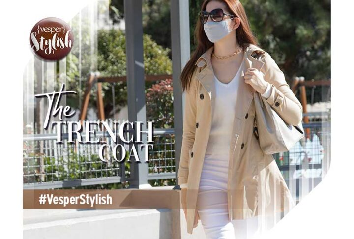 Vesper Stylish - To Trench Coat