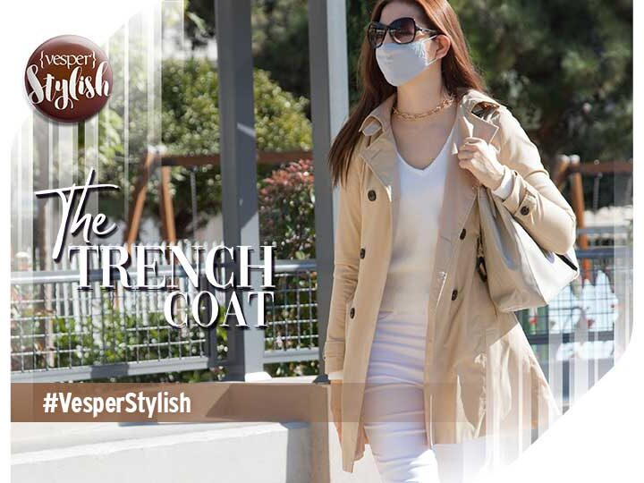 Vesper Stylish - The Trench Coat
