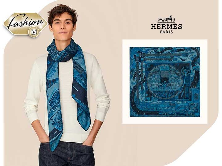 Hermès: Scarf for the 200 Years of Greek Independence