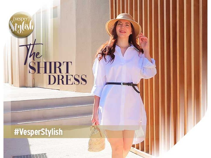 Summer Look: Comfort and elegance with a Shirt Dress