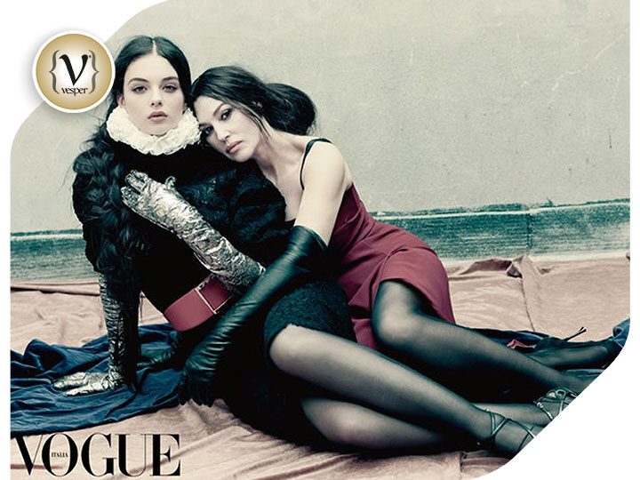 Monica Bellucci: The first photoshoot with her daughter